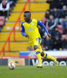 Sheffield Wednesday's Jermaine Johnson - Photo mandatory by-line: Joe Meredith/JMP - Tel: Mobile: 07966 386802 01/04/2013 - SPORT - FOOTBALL - Ashton Gate - Bristol -  Bristol City V Sheffield Wednesday - Npower Championship