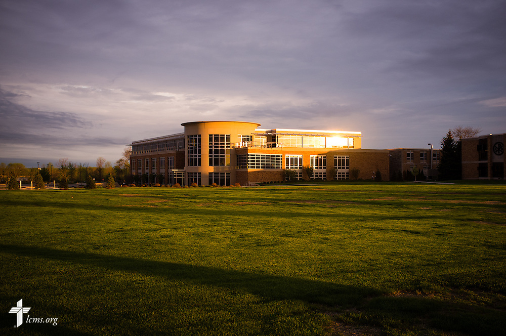 Exterior campus photograph of the School of Pharmacy at Concordia University Wisconsin in Mequon, Wis., on Wednesday, May 28, 2014.  LCMS Communications/Erik M. Lunsford