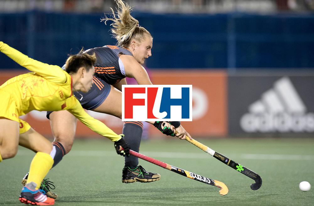 AUCKLAND - Sentinel Hockey World League final women<br /> Match id: 10305<br /> 16 NED v CHina (QF)<br /> Foto:  Laurien Leurink.<br /> WORLDSPORTPICS COPYRIGHT FRANK UIJLENBROEK