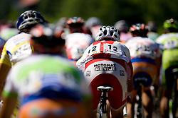 Peloton at Trescak at 2nd stage of Tour de Slovenie 2009 from Kamnik to Ljubljana, 146 km, on June 19 2009, Slovenia. (Photo by Vid Ponikvar / Sportida)