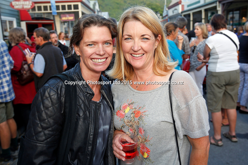 BMW New Zealand Open, Arrowtown Street Party.Thursday 12 March 2015. Copyright photo: Michael Thomas / www.photosport.co.nz
