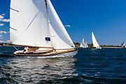 Firefly, S Class, Herreshoff design, the Best Life Museum of Yachting Classic Yacht Regatta