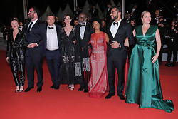 May 16, 2019 - Cannes, Provence-Alpes-Cote d'Azu, France - 72eme Festival International du Film de cannes. Montée des marches du film ''Bacurau''. 72th International Cannes Film festival. red Carpet for ''Bacurau'' movie. 72th International Cannes Film Festival. Red Carpet of Â« Bacurau » screening..72eme Festival International du Film de Cannes. Montée des marches du film Â« Bacurau ».....239235 2019-05-15 Provence-Alpes-Cote d'Azur Cannes France.. Guest (Credit Image: © Philippe Farjon/Starface via ZUMA Press)