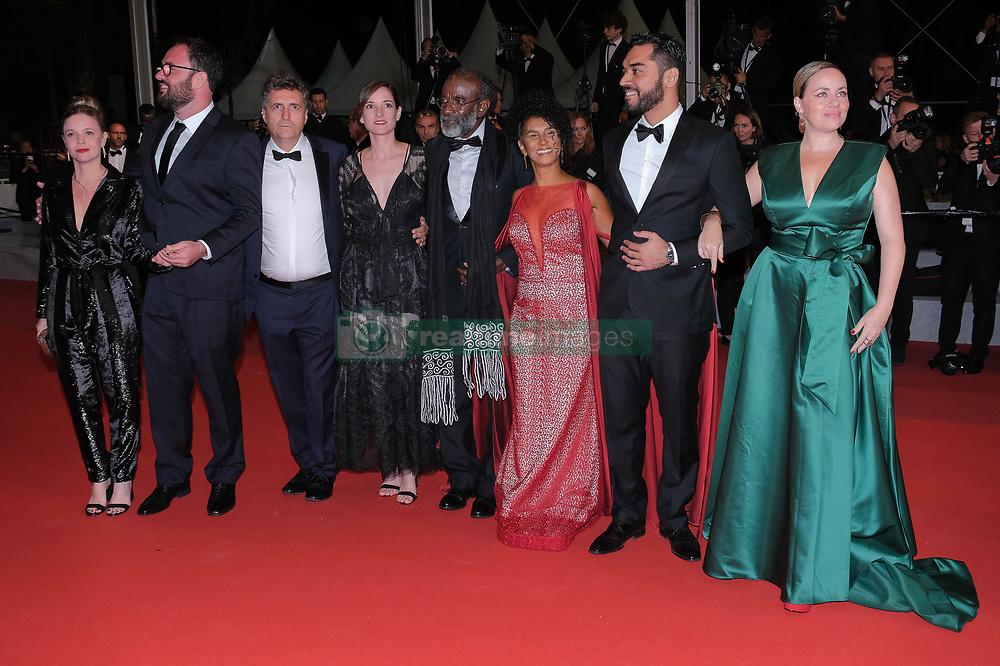 May 16, 2019 - Cannes, Provence-Alpes-Cote d'Azu, France - 72eme Festival International du Film de cannes. Montée des marches du film ''Bacurau''. 72th International Cannes Film festival. red Carpet for ''Bacurau'' movie. 72th International Cannes Film Festival. Red Carpet of Â« Bacurau » screening..72eme Festival International du Film de Cannes. Montée des marches du film Â« Bacurau ».....239235 2019-05-15 Provence-Alpes-Cote d'Azur Cannes France.. Guest (Credit Image: © Philippe Farjon/Starface via ZUMA Press)