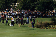 Payne Stewart<br /> Ryder Cup 1989<br /> On the 18th hole<br /> Golf Pictures Credit by: Mark Newcombe / visionsingolf.com