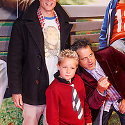 NLD/Amsterdam/20130108 - Premiere Bad Grandpa, Johnny Knoxville, Jeff Tremaine en Jackson Nicoll