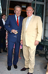 Left to right, SIR DAVID FROST and ANDREW NEIL at a party hosted by Andrew neil and The Business Newspaper held at The Ritz, Piccadilly, London on 12th July 2005.<br /><br />NON EXCLUSIVE - WORLD RIGHTS
