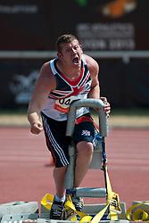 TSCHERNIAWSKY Kieran, GBR, Shot Put, F32/33, 2013 IPC Athletics World Championships, Lyon, France