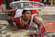 Eunuch performer<br /> Uttar Pradesh, India