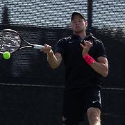 11 March 2016: The San Diego State Aztecs tennis team took on Arizona Saturday afternoon at the SDSU Tennis Center.<br /> www.sdsuaztecphotos.com
