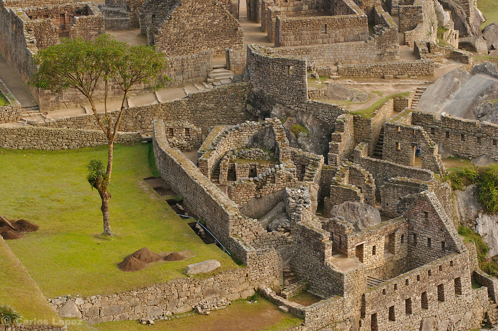 THE RUINS OF MACHU PICCHU, IN THE CITY OF CUSCO, PERU. NOW IS ONE OF THE NEW SEVEN WONDER OF THE MODERN WORLD.