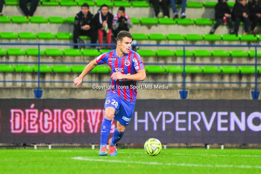 Damien Da Silva - 20.12.2014 - Caen / Bastia - 19eme journee de Ligue 1 <br /> Photo : Philippe Le Brech / Icon Sport