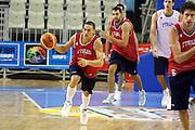 Allenamento Eurobasket 2007<br /> Fabio Di Bella