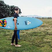 teen surfers matarangi