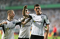 Fotball<br /> Kvalifisering UEFA Champions League<br /> 30.07.2014<br /> Legia Warszawa v Celtic 4:1<br /> Foto: imago/Digitalsport<br /> NORWAY ONLY<br /> <br /> ONDREJ DUDA, MICHAL ZYRO