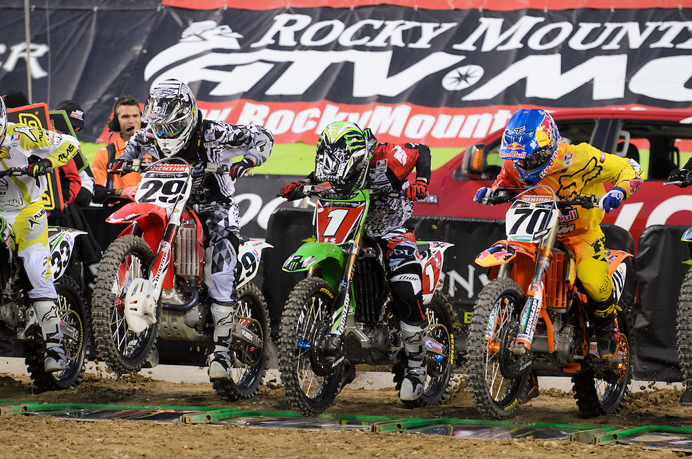 2012 AMA Supercross Series.Century Link Field.Seattle, Washington.April 21, 2021
