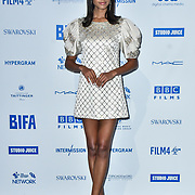 Ella Balinska attends the 22nd British Independent Film Awards at Old Billingsgate on December 01, 2019 in London, England.