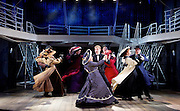 Titanic <br /> at The Charing Cross Theatre, London, Great Britain <br /> press photocall <br /> 3rd June 2016 <br /> <br /> Director Thom Southerland<br /> Musical Staging Cressida Carr&eacute;<br /> Musical Director Mark Aspinall<br /> Set &amp; Costume Designer David Woodhead<br /> Lighting Designer Howard Hudson<br /> Sound Designer Andrew Johnson<br /> <br /> <br /> <br /> <br /> <br /> Doing the latest rag <br /> the company <br /> <br /> <br /> <br /> Photograph by Elliott Franks <br /> Image licensed to Elliott Franks Photography Services