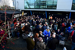 The Chiefs Bar outside Sandy Park prior to kick off - Mandatory by-line: Ryan Hiscott/JMP - 29/12/2019 - RUGBY - Sandy Park - Exeter, England - Exeter Chiefs v Saracens - Gallagher Premiership Rugby