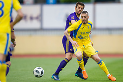 Agim Ibraimi of NK Domzale during football match between NK Domzale and NK Maribor in Round #32 of Prva liga Telekom Slovenije 2017/18, on May 9, 2018 in Sports park Domzale, Domzale, Slovenia. Photo by Urban Urbanc / Sportida