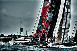 America's Cup World Series in Plymouth, Racing Day 1