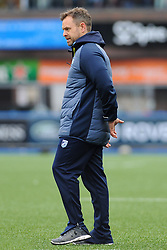 Cardiff Blues Head Coach Danny Wilson looks on - Mandatory by-line: Nizaam Jones/JMP- 24/03/2018 - RUGBY - BT Sport Cardiff Arms Park- Cardiff, Wales - Cardiff Blues v Ulster Rugby - Guinness Pro 14