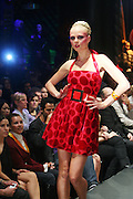 Model at The Patricia Field Show at 2008 Mercedes-Benz Fashion Week held at the Edison Ballroom on September 6, 2008