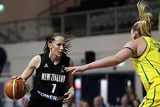 Auckland-Basketball-New Zealand v Australia Women