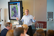 Mark Hyatt, Head of Technical Services and Sustainability at Guide Dogs for the Blind speaking at the Network & Harvest 2016, Fit for the Future event, The Crystal, London. UK 17th October 2016
