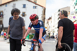 Katie Archibald (GBR) of Team WNT finishes the Durango-Durango Emakumeen Saria - a 113 km road race, starting and finishing in Durango on May 16, 2017, in the Basque Country, Spain.