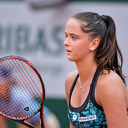 Viktoria Kuzmova of Slovakia during Day 4 for the French Open 2018 on May 30, 2018 in Paris, France. (Photo by Baptiste Fernandez/Icon Sport)