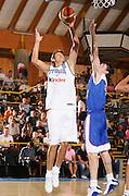 DESCRIZIONE : Bormio Amichevole Italia Serbia<br /> GIOCATORE : Mancinelli <br /> SQUADRA : Italia <br /> EVENTO : Bormio Amichevole Italia Serbia <br /> GARA : Italia Serbia <br /> DATA : 16/07/2006 <br /> CATEGORIA : Tiro <br /> SPORT : Pallacanestro <br /> AUTORE : Agenzia Ciamillo-Castoria/S.Silvestri <br /> Galleria : FIP Nazionale Italiana <br /> Fotonotizia : Bormio Amichevole Italia Serbia <br /> Predefinita :