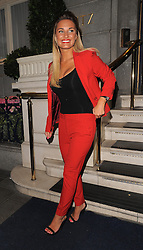 Sam Faiers and Gemma Merna leave the Ritz Hotel and head to Euston station, where Sam was clutching a book title Elvis Returns, Elvis Is Alive II. London, UK. 16/08/2013<br />BYLINE MUST READ : GOTCHAIMAGES.COM<br /><br />Copyright by © Gotcha Images Ltd. All rights reserved.<br />Usage of this image is conditional upon the acceptance <br />of Gotcha Images Ltd, terms and conditions available at<br />www.gotchaimages.com