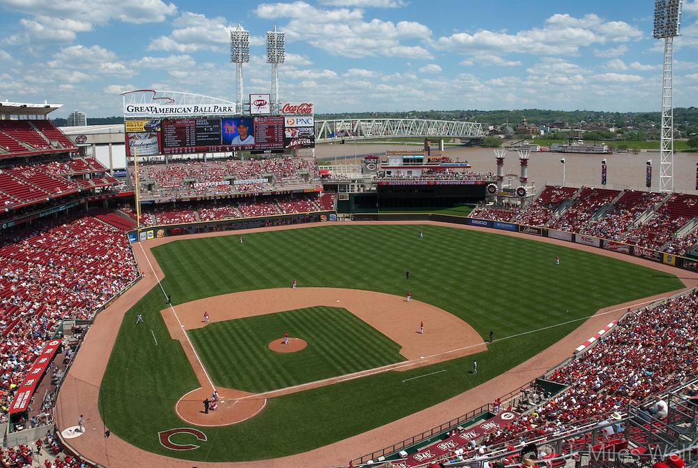 Great American Ball Park Cincinnati Ohio Reds Stadium