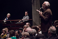 Audience member asks Annalee Newitz a quesion. A collection of images from the Uncharted 2013 - 2015 Festivals held annually in Berkeley, California.