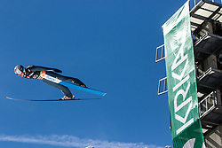 Marius Lindvik (NOR) during the Qualification round of the Ski Flying Hill Individual Competition at Day 1 of FIS Ski Jumping World Cup Final 2019, on March 21, 2019 in Planica, Slovenia. Photo by Matic Ritonja / Sportida