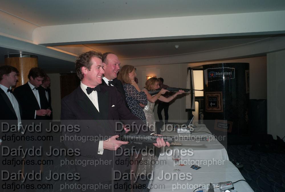 WILL DUCKWORTH-CHAD, Game & Wildlife Conservation Trust's Ball. Savoy Hotel. London. 6 November 2013.