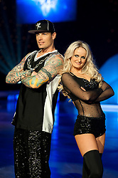 Dancing on Ice Photocall Sheffield Motorpoint Arena .Vanilla Ice and Katie Stainsby ..7 April 2011.Images © Paul David Drabble