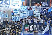 DESCRIZIONE : Brindisi Lega A 2012-13 Enel Brindisi Umana Venezia<br /> GIOCATORE : Tifosi<br /> CATEGORIA : Tifosi<br /> SQUADRA : Enel Brindisi <br /> EVENTO : Campionato Lega A 2012-2013 <br /> GARA :  Enel Brindisi Umana Venezia<br /> DATA : 28/10/2012<br /> SPORT : Pallacanestro <br /> AUTORE : Agenzia Ciamillo-Castoria/V.Tasco<br /> Galleria : Lega Basket A 2012-2013  <br /> Fotonotizia : Brindisi Lega A 2012-13  Enel Brindisi Umana Venezia<br /> Predefinita :