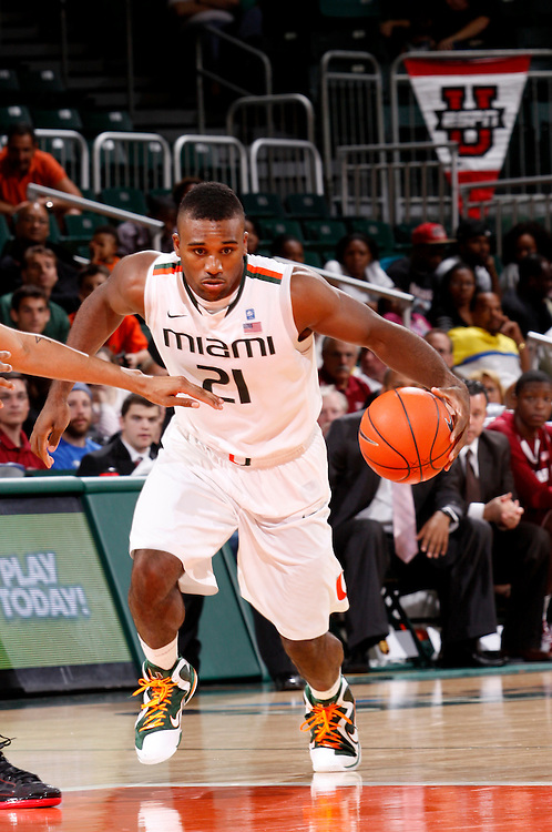 2012 Miami Hurricanes Men's Basketball vs UMass