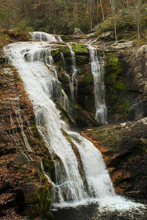 Bald River Falls - Autumn - Fall Color