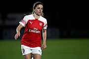 Arsenal forward Lisa Evans (17) during the FA Women's Super League match between Arsenal Women and Yeovil Town Women at Meadow Park, Borehamwood, United Kingdom on 20 February 2019.