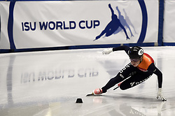 February 8, 2019 - Torino, Italia - Foto LaPresse/Nicolò Campo .8/02/2019 Torino (Italia) .Sport.ISU World Cup Short Track Torino - 500 meter Ladies Heats.Nella foto: Lara van Ruijven..Photo LaPresse/Nicolò Campo .February 8, 2019 Turin (Italy) .Sport.ISU World Cup Short Track Turin - 500 meter Ladies Heats.In the picture: Lara van Ruijven (Credit Image: © Nicolò Campo/Lapresse via ZUMA Press)