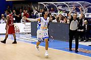 DESCRIZIONE : Capo dOrlando Lega A 2014-15 Orlandina Basket Olimpia Emporio Armani EA7 Milano<br /> GIOCATORE : Andrea Pecile<br /> CATEGORIA : Ritratto Esultanza Three Point<br /> SQUADRA : Orlandina Basket EA7 Emporio Armani Olimpia Milano<br /> EVENTO : Campionato Lega A 2014-2015 <br /> GARA : Orlandina Basket EA7 Emporio Armani Olimpia Milano<br /> DATA : 19/04/2015<br /> SPORT : Pallacanestro <br /> AUTORE : Agenzia Ciamillo-Castoria/G.Pappalardo<br /> Galleria : Lega Basket A 2014-2015<br /> Fotonotizia : Capo dOrlando Lega A 2014-15 Orlandina Basket EA7 Emporio Armani Olimpia Milano