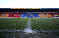 General view of the ground before the Ladbrokes Scottish Premiership match at McDiarmid Park, Perth.