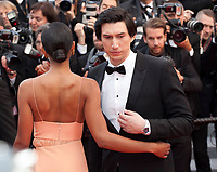 Laura Harrier and Adam Driver at the Blackkklansman (Black Klansman) gala screening at the 71st Cannes Film Festival, Monday 14th May 2018, Cannes, France. Photo credit: Doreen Kennedy