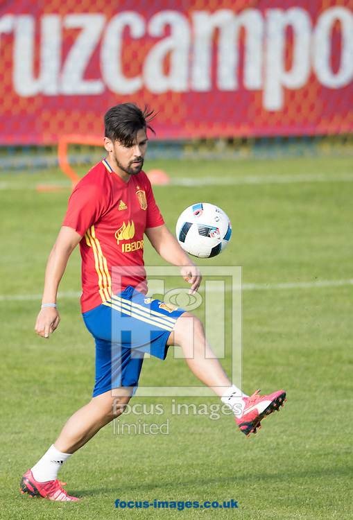 Nolito of Spain during training at Aktivpark Montafon Stadion, Schruns<br /> Picture by EXPA Pictures/Focus Images Ltd 07814482222<br /> 26/05/2016