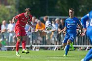Frederik Bay (FC Helsingør) under kampen i 2. Division mellem Skovshoved IF og FC Helsingør den 3. august 2019 i Skovshoved Idrætspark (Foto: Claus Birch)