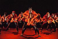 The final Collabo (so named because it displays collaborations) performance by the dance groups Unity, Boadicea and Methods of Movement. At Stratford Circus, Artistic Director Tony Adigun.  Choreography by Rhimes Lecointe, Tashan Muir and Ninja, Music Editor Omar Ansah-Awuh. Dancers Rhimes Lecointe, Ashley Rowen Bboy Ash-Lee, Minica Beason, Chris Childs Crazy Popper, Kendra Horsburgh, Kayla Lomas Kirton, Jen Bailey Rae, Gemma Hoddy, Emma Houston, Nicole Wooder, RObyn Walker, Michael Worwood Bboy Ninja, Leader Joke Liverpool Bboy Uniquie, Mathew Gosling Bboy Menthol. Supercrew at Collabo Dance, An annual collaborative urban/hip-hop/break beats event organised by East London Dance and Tony Adigun 2013