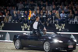 Team James Bond, Gudrun Patteet, Sea Coast B52 F Z, Ribas Carlos, Santa <br /> Fancy Dress<br /> Vlaanderen Kerstjumping - Memorial Eric Wauters - <br /> Mechelen 2015<br /> © Hippo Foto - Dirk Caremans<br /> 29/12/15